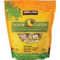 Kirkland Signature Cashew Cluster With Almonds And Pumpkin Seeds