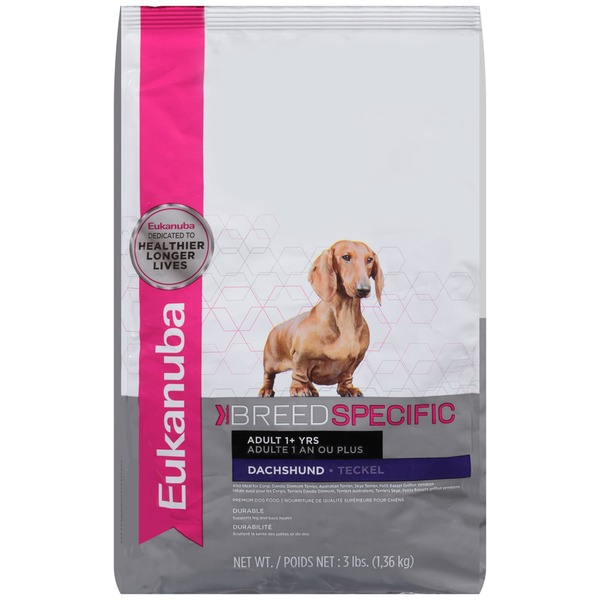Eukanuba Breed Specific Adult 1+ Yrs Dachshund Dog Food