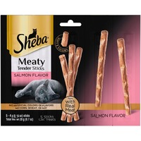 Sheba Meaty Tender Sticks Salmon Flavor Cat Treats