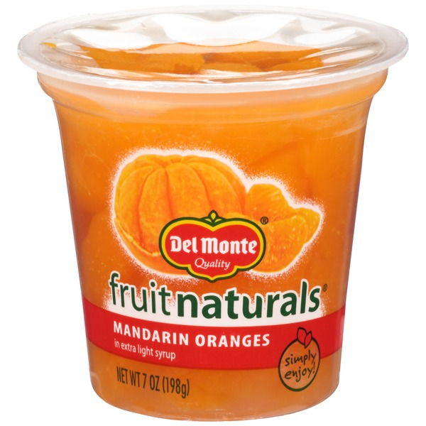 Fruit Naturals In Extra Light Syrup Mandarin Oranges