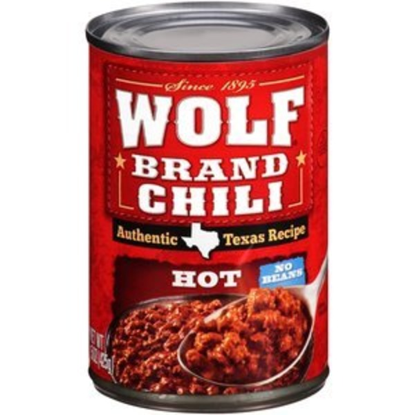 Wolf Brand Hot No Beans Chili