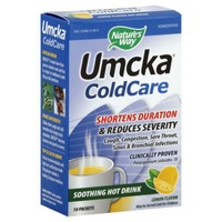 Nature's Way ColdCare, Soothing Hot Drink, Lemon Flavor