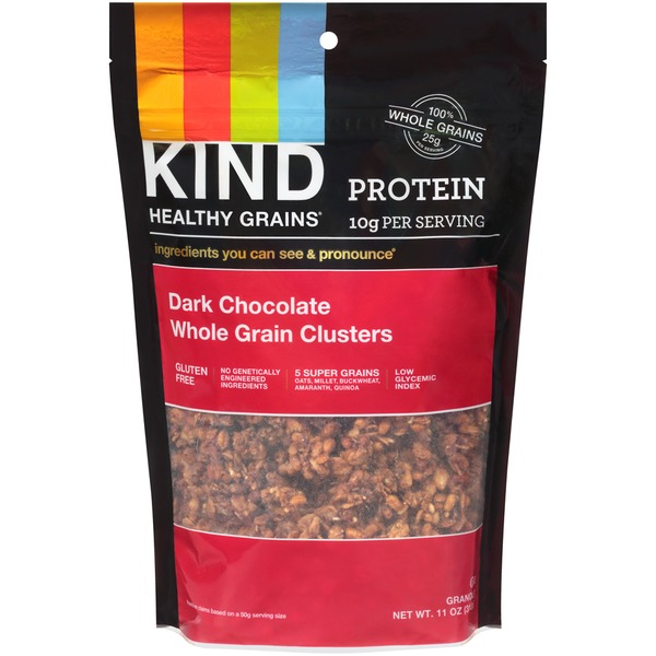 Kind Healthy Grains Dark Chocolate Whole Grain Clusters