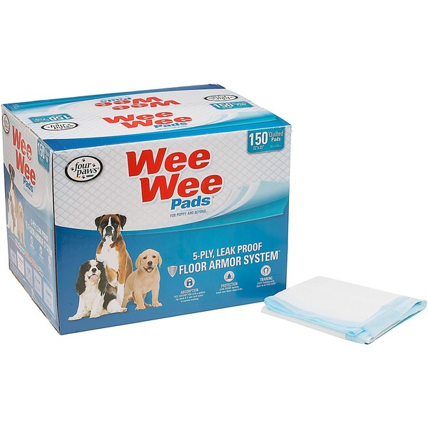 Four Paws Wee Wee Pads for Puppy & Beyond...