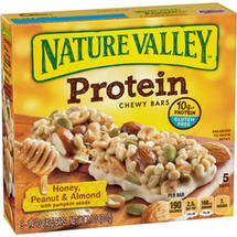 Nature Valley Honey Peanut & Almond with Pumpkin Seeds Protein Chewy Bars