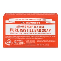 Dr. Bronner's Magic All-One Dr. Bronner's All-One Hemp Tea Tree Pure-Castile Bar Soap
