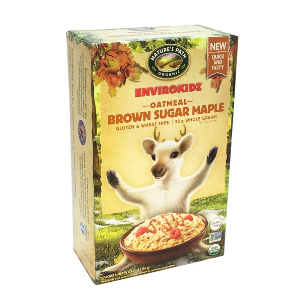 Nature's Path EnviroKidz Brown Sugar Maple Oatmeal