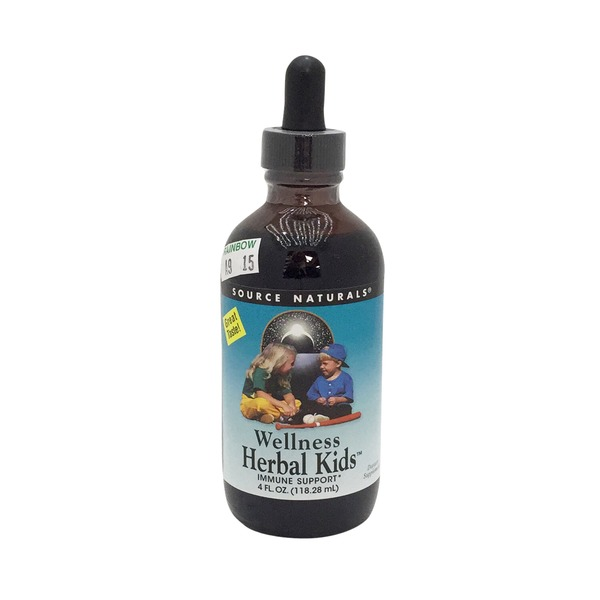 Source Naturals Wellness Herbal Kids Immune Support Liquid