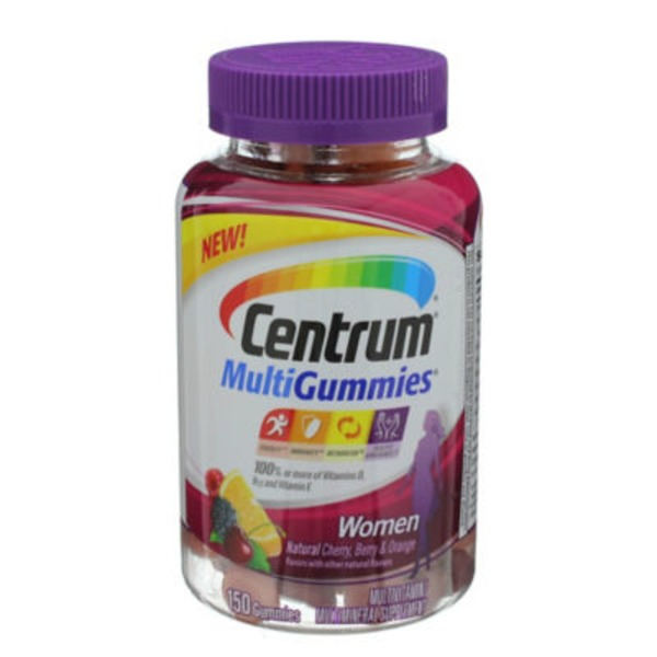 Centrum MultiGummies Women Gummies Multivitamin/Multimineral Supplement