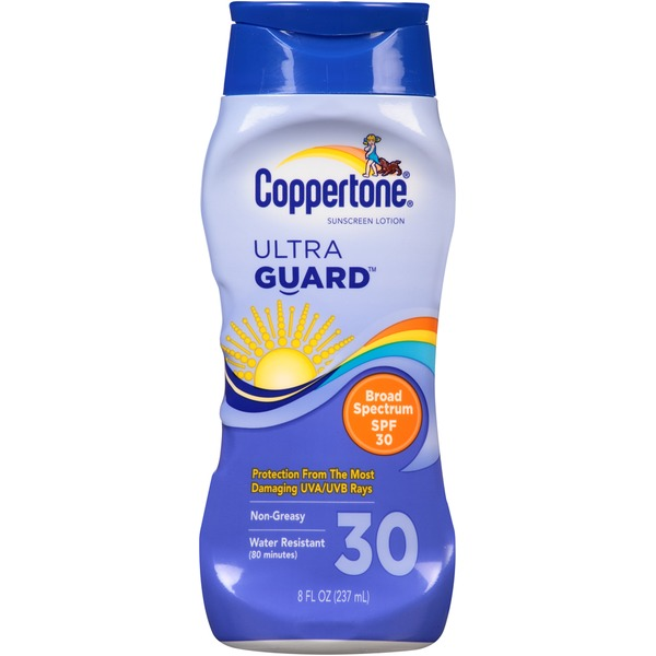 Coppertone Ultra Guard Broad Spectrum SPF 30 Lotion Sunscreen