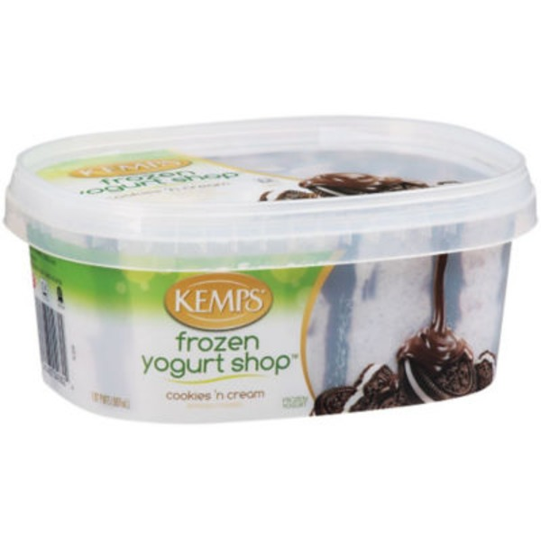 Kemps Frozen Yogurt Shop Cookies 'N Cream