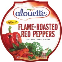 Alouette Flame-Roasted Red Peppers Spreadable Cheese