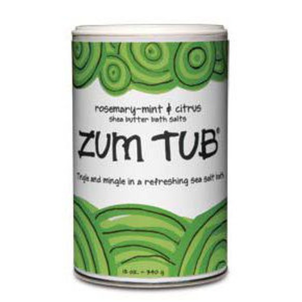 Zum Tub Rosemary Mint & Citrus Shea Butter Bath Salts