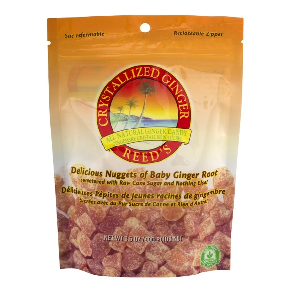 Reed's Inc. Crystallized Ginger Candy