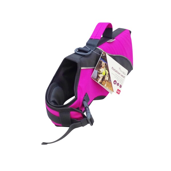 Good2 Go Pink Dog Flotation Vest X Small