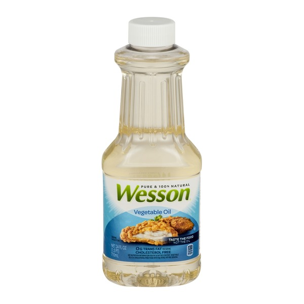 Pure Wesson 100% Natural Vegetable Oil