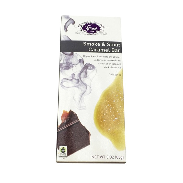 Vosges Smoke & Stout Caramel Bar