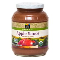 365 Organic Apple Sauce With Berries
