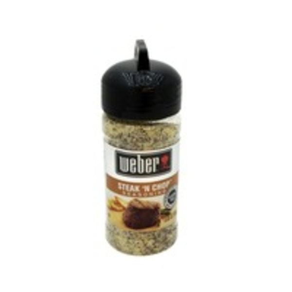 Weber Seasoning, Steak 'N Chop, Gluten-Free, Bottle