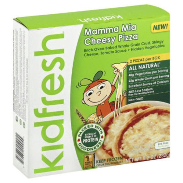 Kidfresh Mamma Mia Cheesy Pizza