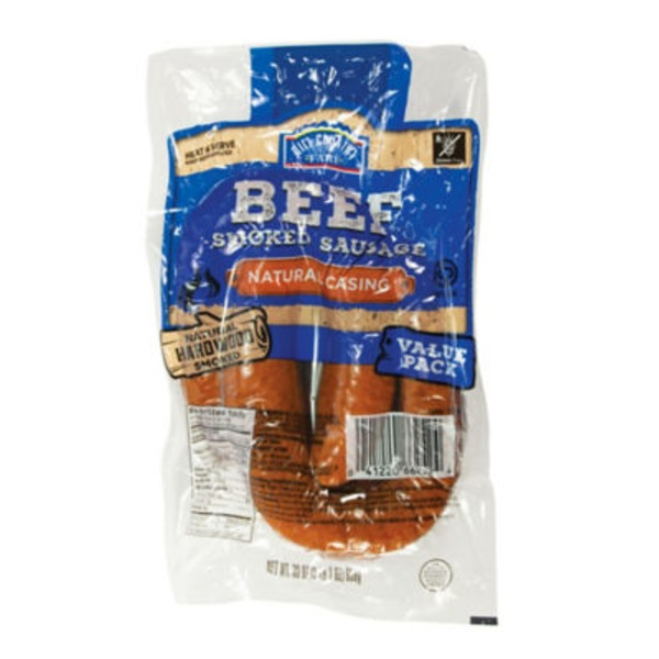 Hill Country Fare Beef Smoked Sausage Value Pack