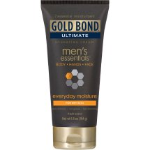 Gold Bond Ultimate Men's Essentials Everyday Moisture Hydrating Cream, 6.5 oz