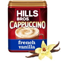 Hills Bros. Drink Mix, French Vanilla Cappuccino, 16 Oz, 1 Count