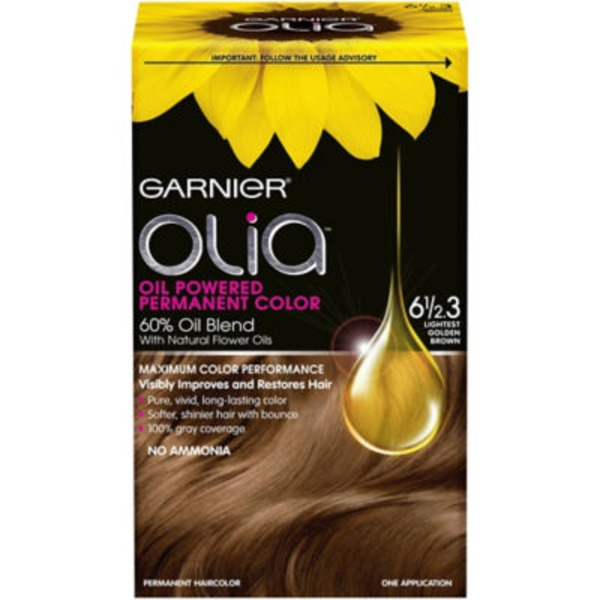 Olia™ 6 1/2.3 Lightest Golden Brown Oil Powered Permanent Color