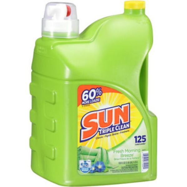 Sun Fresh Morning Breeze 125 Loads Laundry Detergent