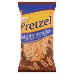 Great Value Ultra Thin Salty Pretzel Sticks, 16 oz