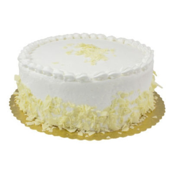 H-E-B Bakery 10 inch White Cake With Buttercream Icing