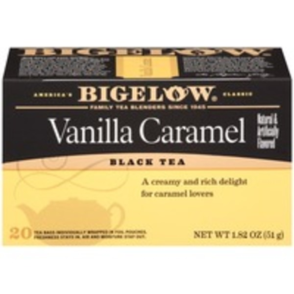 Bigelow Vanilla Caramel Black Tea Blend