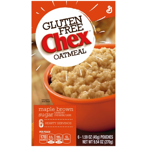 Chex Gluten Free Maple Brown Sugar Oatmeal