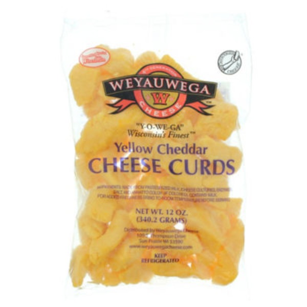 Weyauwega Star Yellow Cheddar Cheese Curds