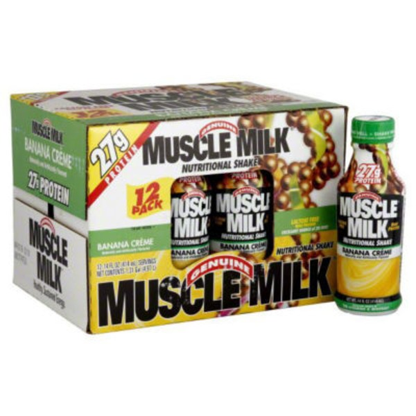 CytoSport Muscle Milk Banana Creme Nutritional Shake