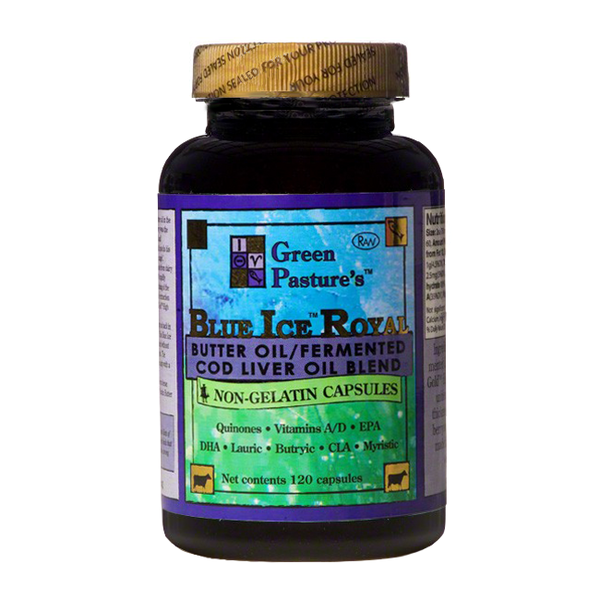 Green Pasture Blue Ice Royal Cod Liver Oil Blend