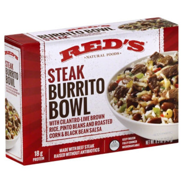 Red's Steak Burrito Bowl