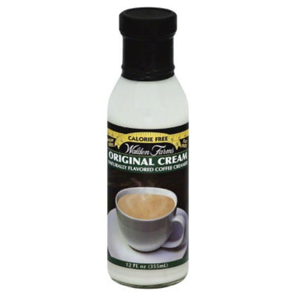 Walden Farms Original Coffee Creamer, Bottle