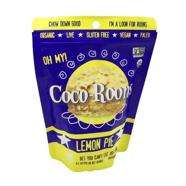 Wonderfully Raw Gourmet Organic Lemon Pie Coco Roons