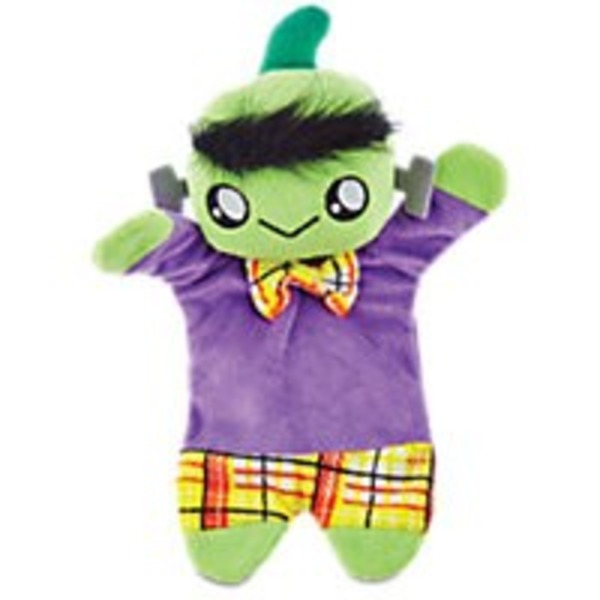 Petco Medium Halloween Frankie Flattie Plush Dog Toy