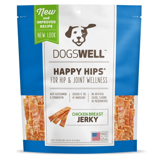 Dogswell Happy Hips Jerky Chicken