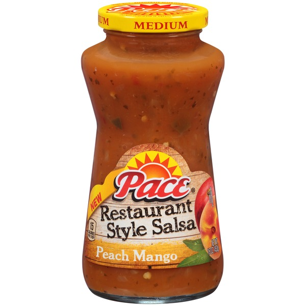 Pace Restaurant Style Peach Mango Medium Salsa
