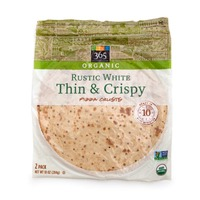 365 Organic Rustic White Thin And Crispy Pizza Crusts