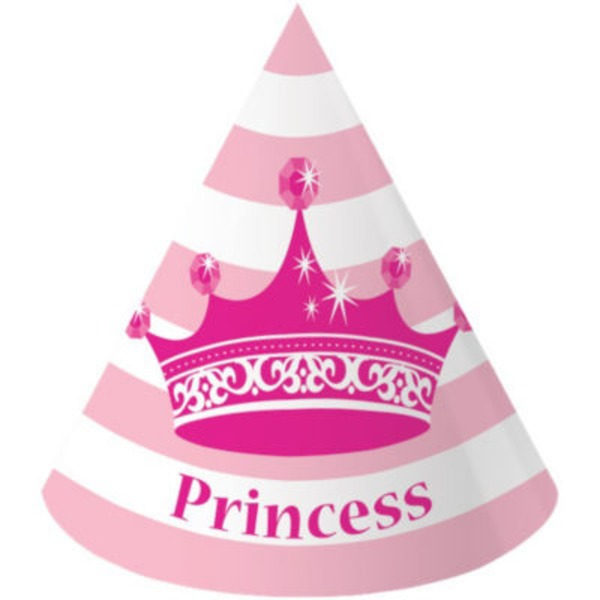 Creative Expressions Pink Princess Royalty Child's Party Hat