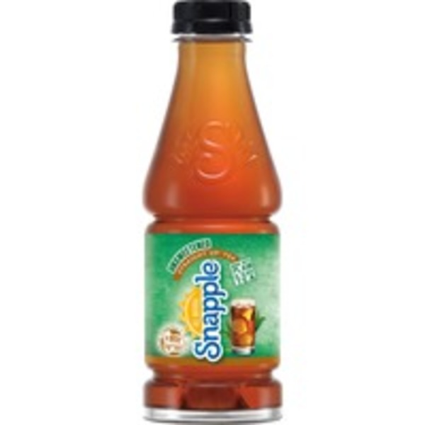 Snapple Straight Up Unsweetened Regular Tea