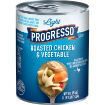 Progresso Light Roasted Chicken and Vegetable Soup, 18.5 oz, 18.5 OZ