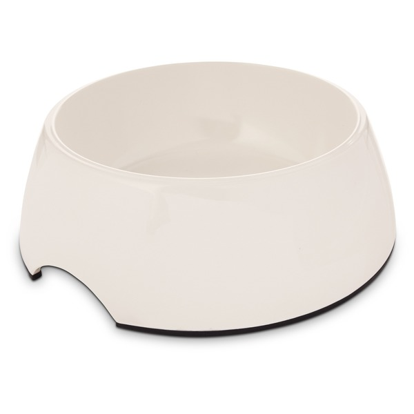 Bowlmates By Petco Medium White Round Base Bowl
