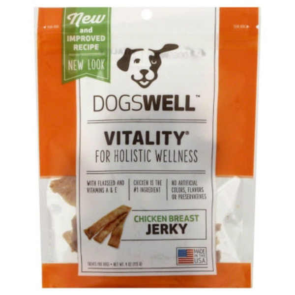 Happy Hips Treats for Dogs, Chicken Breast Jerky