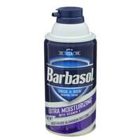 Barbasol Thick & Rich Shaving Cream Extra Moisturizing with Vitamin E