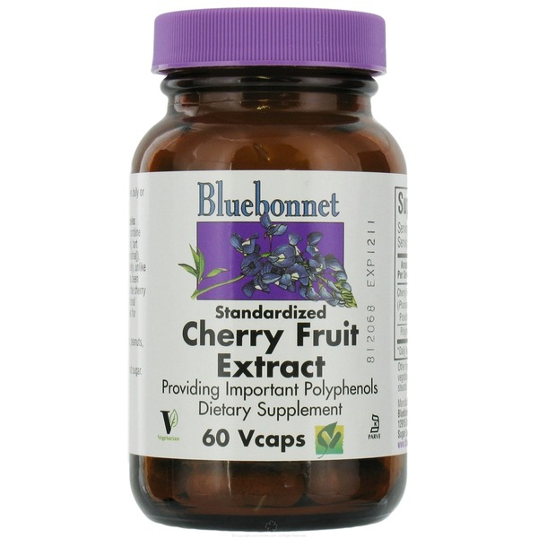 Bluebonnet Nutrition Standardized Cherry Fruit Extract Vegetarian Capsules